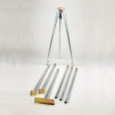 Aluminium tripod, cap 6.5 kN (650 kgf)