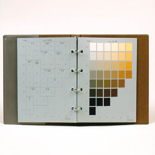 Soil colour charts - Field measurement equipment | Eijkelkamp