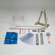 Split tube sampler, Ø 53 mm, set