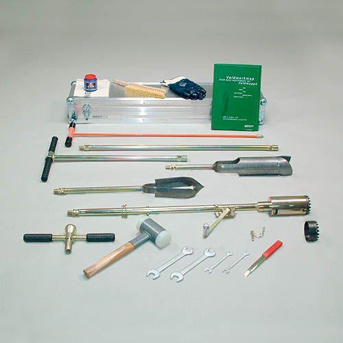 Bi-partite root auger set, to 2 m depth