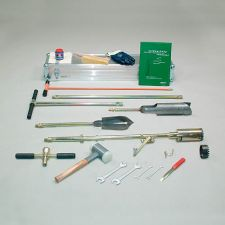 Bi-partite root auger set, to 2 m depth