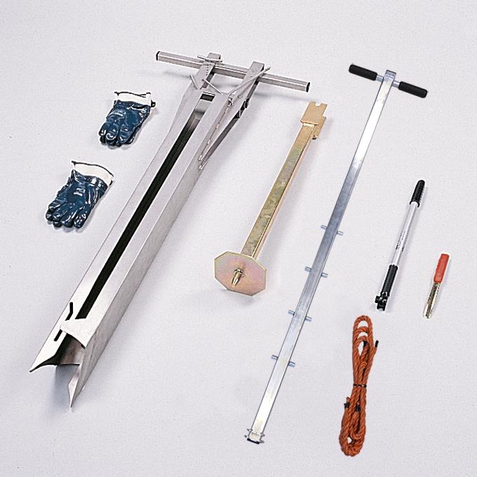 Peat profile sampler, type Wardenaar