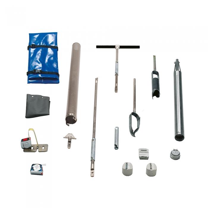 Hydraulic conductivity test kit