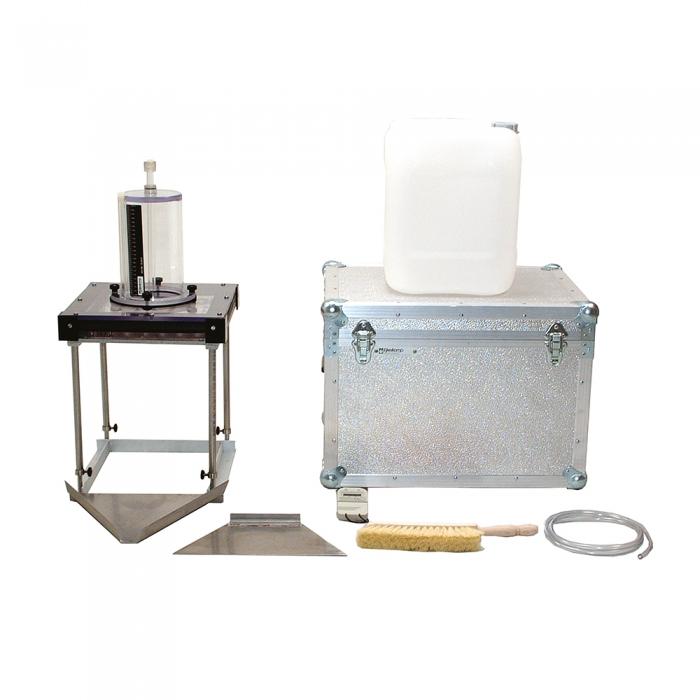 Mini rainfall simulator for erosion test