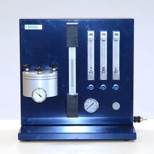 Air permeameter for soil