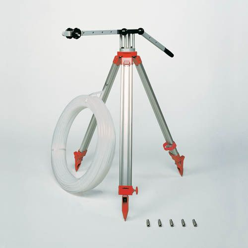 Hand-operated foot valve pump, set