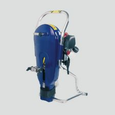 Motorized foot valve pump, set