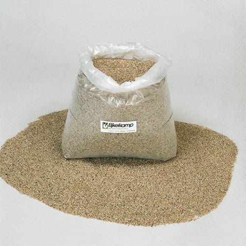 Filter sand out of a pit, sack of 25 kg