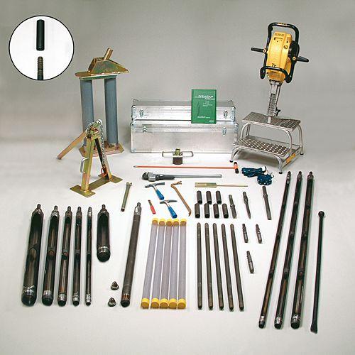 Equipos de perforación a percusión para  suelos heterogéneos