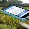Medición de la calidad del agua con smartphone o tableta