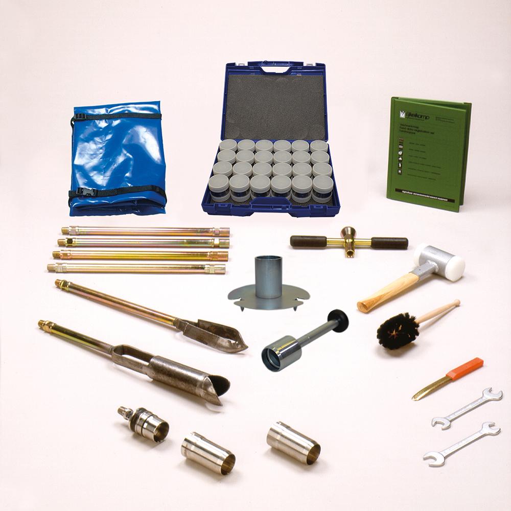 Sample ring kit model E, heavy, Ø 53 mm