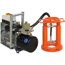 Hydraulic extractor, electric