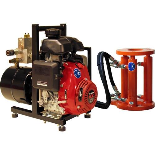 Hydraulic extractor, petrol