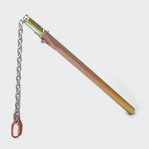Hefboom met ketting, lengte 100 cm