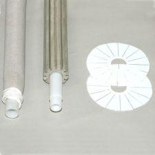 Filterbuis vooromstort, PE, Ø20mm, 5x