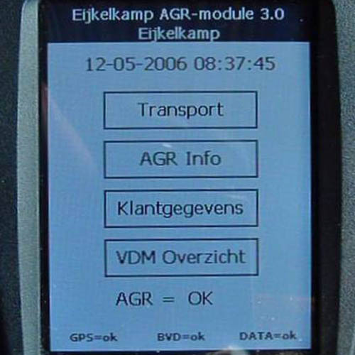 AGR software AgroIT t.b.v. drijfmest EAE