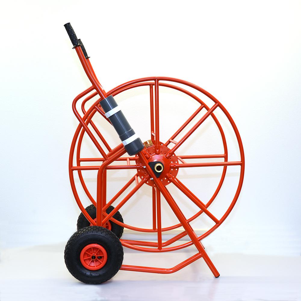 Hose reel cart, large, with holder