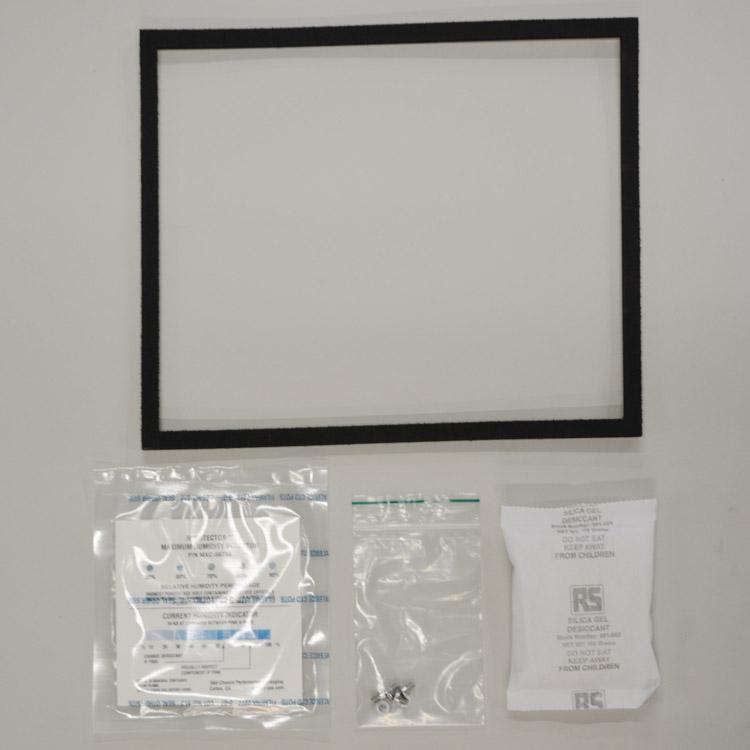Set of materials, for sampler chamber