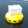 Boei meet kwaliteit water in de Berkel