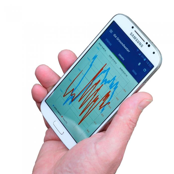 Go Groundwater App y dongle de Eijkelkamp