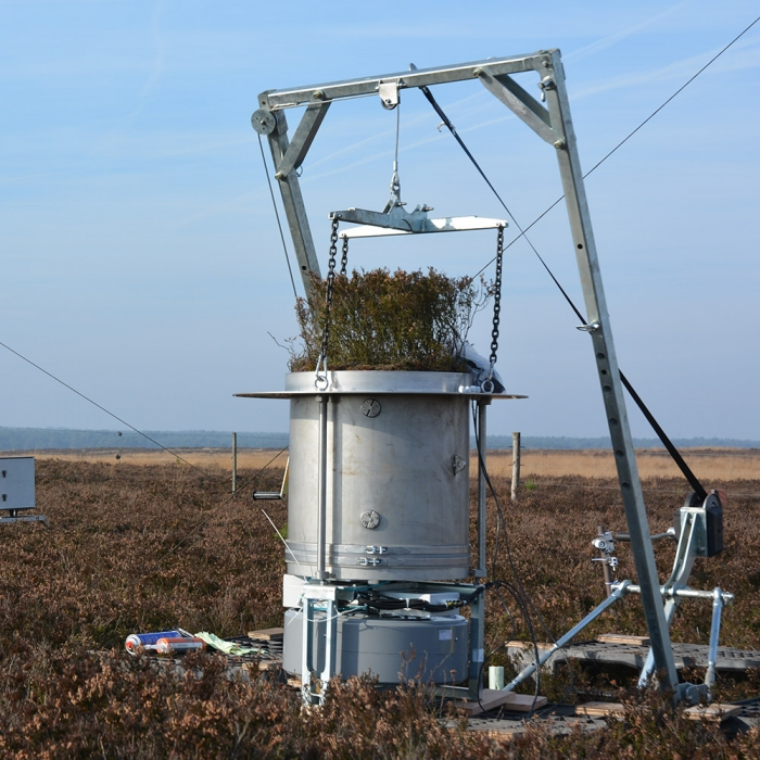 Eijkelkamp Smart Lysimeter, equipo completo para la medición de la evaporación
