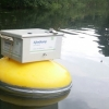 Measurement buoy at work for the upcomming two day event in Zutphen