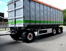Smart AGR vaste mest, losse aanhanger